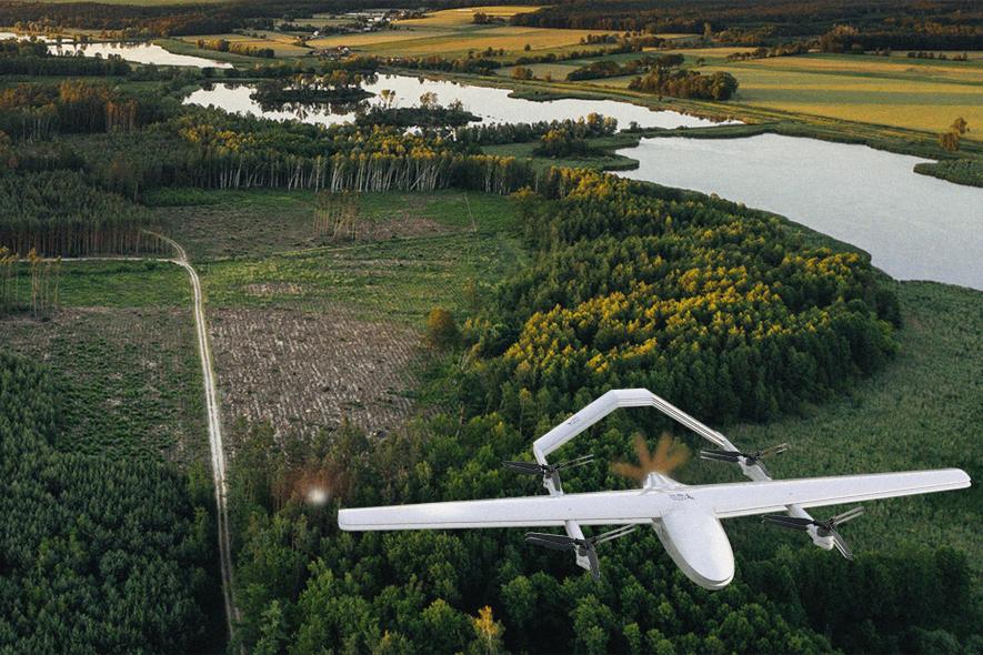 drone in madagascar