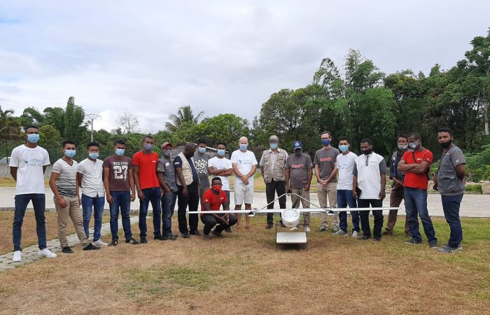 USAID visit, mod